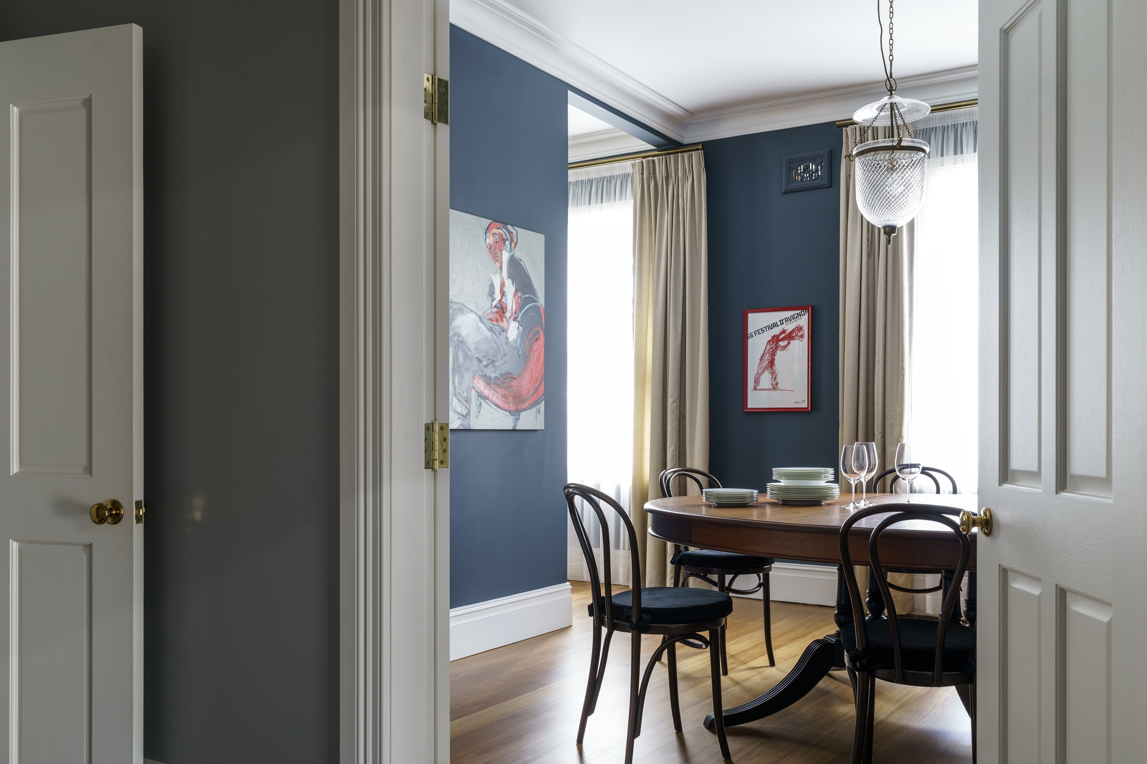 100-Year-Old-Heritage-Home-Restoration-Dining-Art-Michael-Bell-Architects-Sydney
