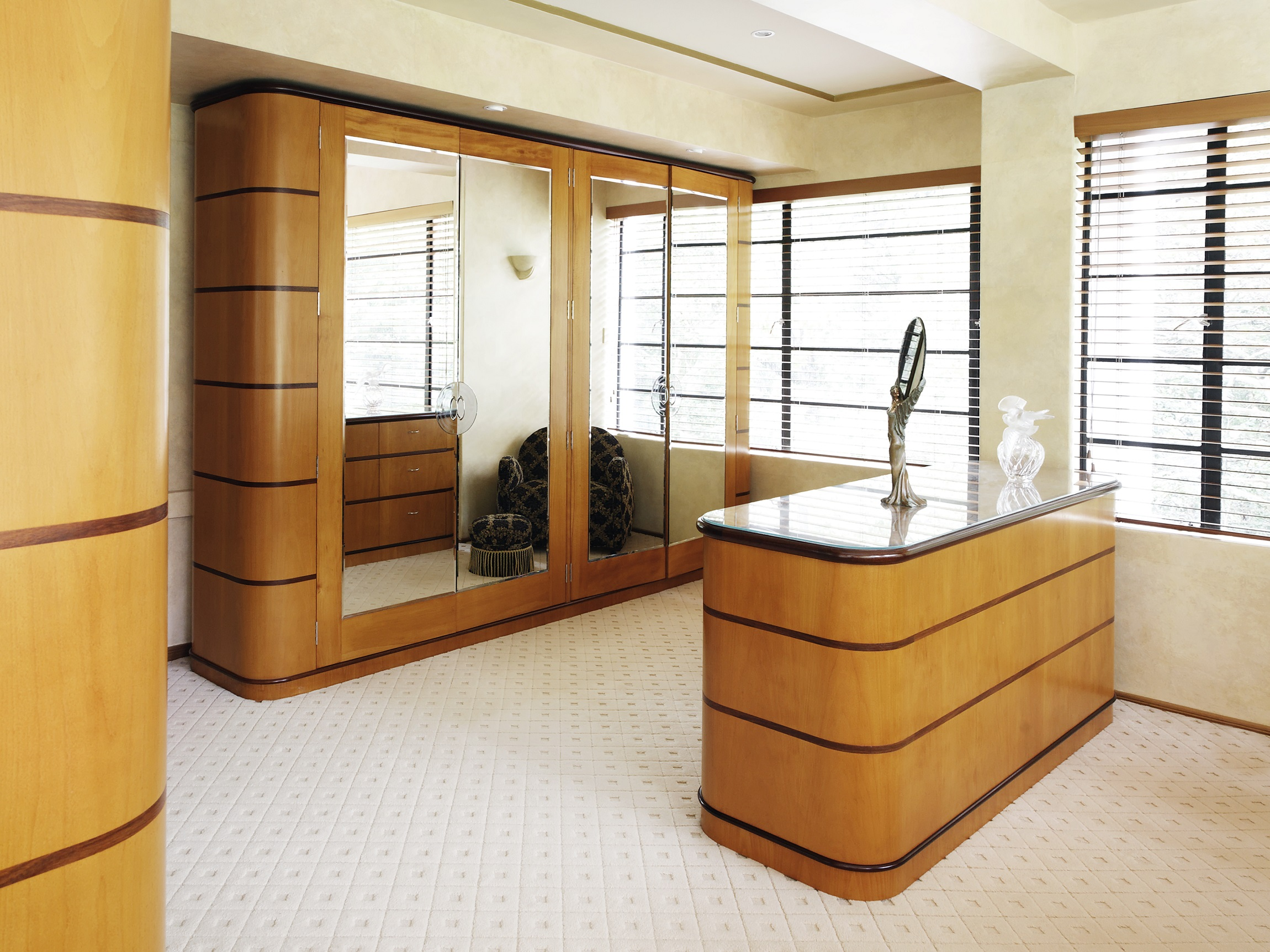 Art-Deco-Bedroom-Wardrobe-Interior-Decoration-Northern-Beaches-Michael-Bell-Architects-Sydney