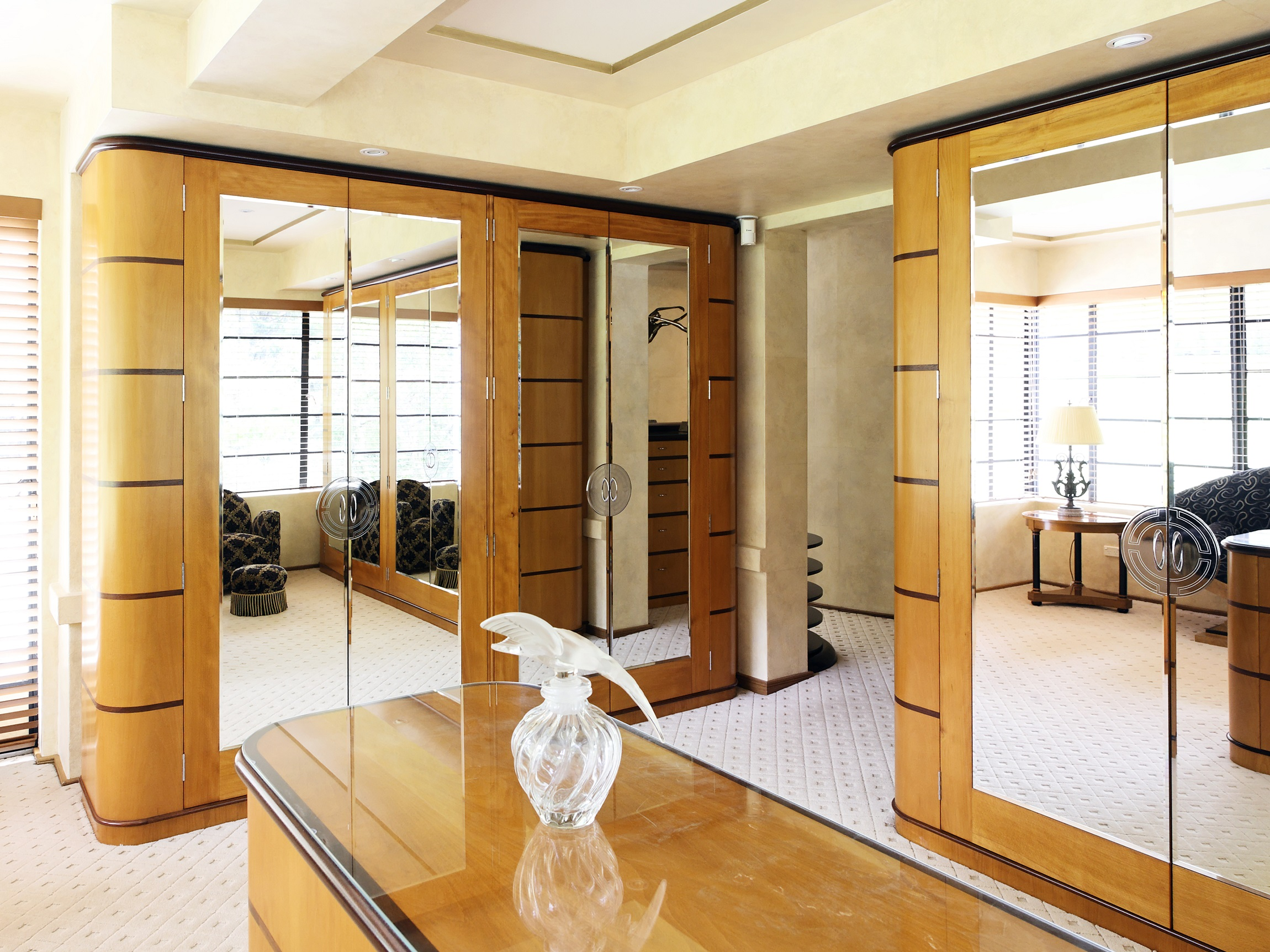 Art-Deco-Bedroom-Wardrobe-Interior-Design-Northern-Beaches-Michael-Bell-Architects-Sydney