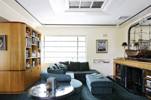 Northern Beaches Sydney Interior Design Art deco living Room