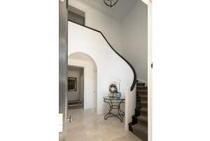 Art Deco Sweeping Staircase Interior Design Bellevue Hill