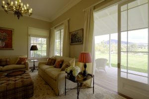 Country Style Living Room verandah view