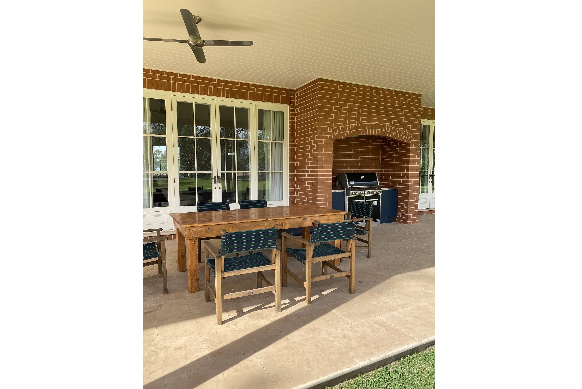 Outdoor Living Barbeque Area Architecture