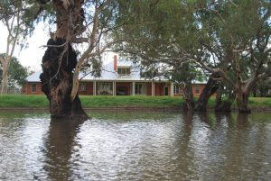 Country Farmhouse Architecture Lake