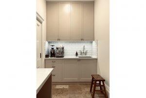 Country Style Kitchen Interior Design Coffee Machine