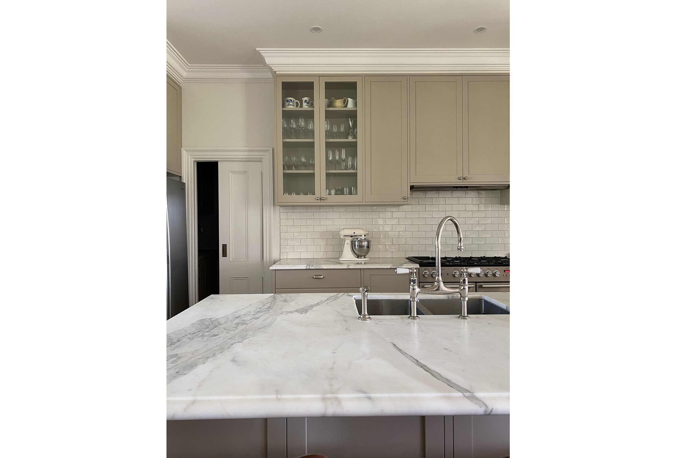 Kitchen Interior Design marble Bench Architecture