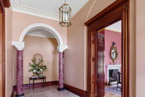 Interior Design Sydney Architecture Georgian Style House Arch Fireplace