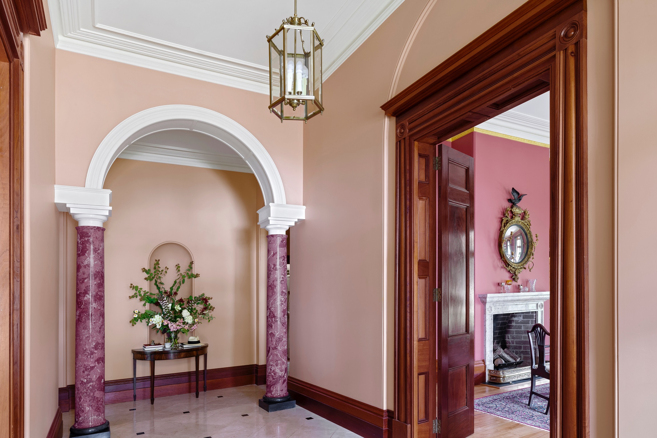 Georgian-Style-Country-Estate-Australia-Arch-Columns-Michael-Bell-Architects