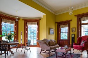 Classical Architecture Georgian Style House Living Room Bay Window Interior Design