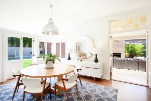 Interior Design Dining Heritage Restoration Sydney