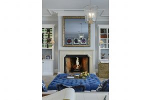Interior Design Hunter Valley Fireplace Mirror TV