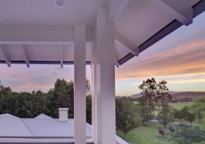 Hunter Valley Sunset Verandah Architecture