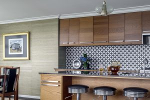 Interior Design Retro 1960s Kitchen Bar Stools Tiles Kiama