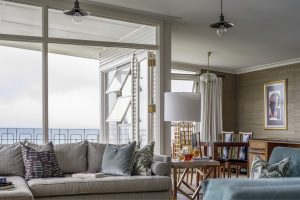 Interior Design Retro 1960s Living Room Ocean View Kiama