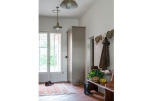Country Interior Design Mudroom Driza Bone RM Williams